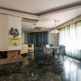 bed & breakfast marano vicentino vicenza sala caminetto