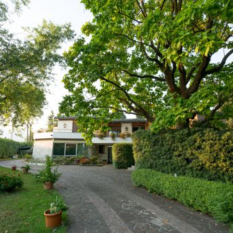 bed & breakfast marano vicentino vicenza vialetto ingresso